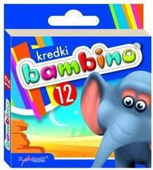 Bambino MAJEWSKI Kredki 12 kolorów 5903235000225