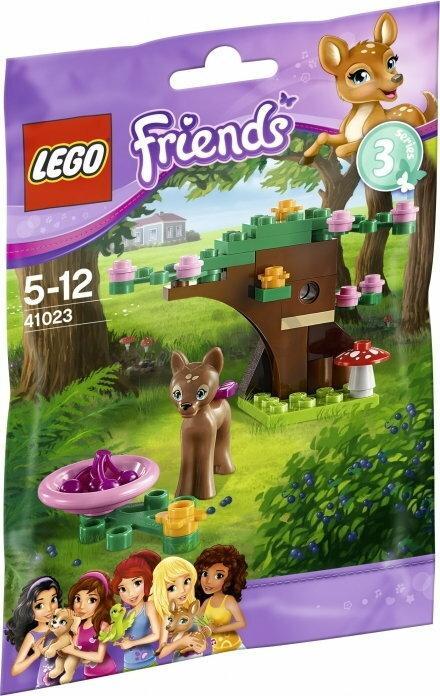Lego Friends Las Jelonka 41023 Ceny Dane Techniczne Opinie Na