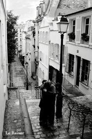 La Baiser (the kiss) - plakat