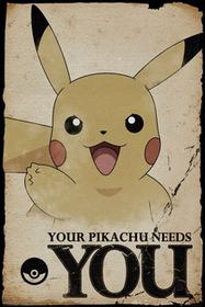 GBeye Pokemon Your Pikachu Needs You - plakat