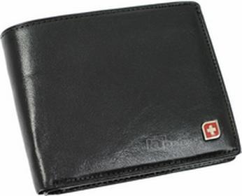 Genevian Luxury Objects 03-2304-01 portfel skóra - czarny