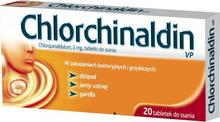 Polfa Chlorchinaldin 20 szt.