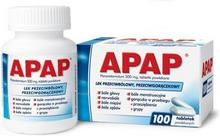 US Pharmacia Apap 500mg 100 szt.