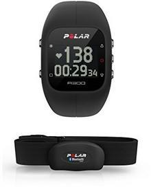Polar Zegarek Z Pulsometrem A300 Hr, Czarny, 90051953