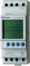 Finder Programator tygodniowy elektroniczny 1CO 16A 12V AC/DC 12.21.0.024.0000