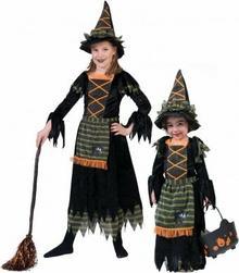 Funny Fashion Przebranie karnawałowy Czarownica Lya 404187