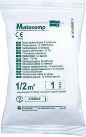 MATOCOMP Gaza opatrunkowa jałowa 17-nitkowa 1/2 m2