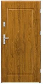 Splendoor Drzwi zewnętrzne  Topaz 80 prawe dąb złoty