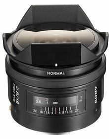 Sony AF 16mm f/2.8 fisheye