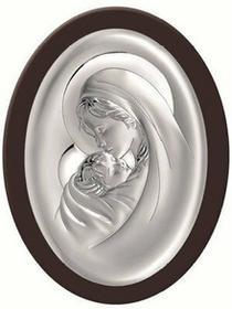 Beltrami Obrazek Matka Boska w brązowej oprawie- (BC#6379WM)