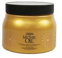 Loreal Mythic Oil maseczka maska nadająca blask 500ml Włosy bez bez połyskuu