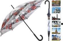 Parasol manualny CITY, Parasolka - 105 cm - nowy york