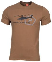 Pentagon T-shirt T-Shirt Helicopter - Coyote (K09012-03)