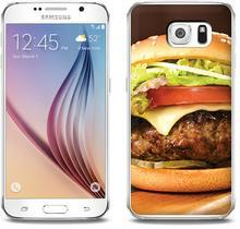 Etuo.pl Foto Case - Samsung Galaxy S6 - etui na telefon Foto Case - hamburger ETSM172FOTOFT058000