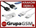 Samsung Oryginalny Kabel Micro USB 3.0 ET-DQ11Y1WE kolor: biały
