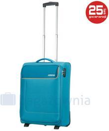 Samsonite AT by Mała kabinowa walizka AT FUNSHINE 75506 Turkusowa - turkusowy