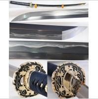 Kuźnia mieczy samurajskich Katana JAPOŃSKA TAMAHAGANE Z HOZUYA, JIZUYA POLEROWAN