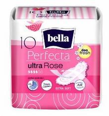 Bella PODPASKI PERFECTA ULTRA ROSE DEO FRESH 10 SZT. EXTRA SOFT