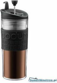 Bodum Praska/Kubek termiczny akrylowy 0,45 l Press czarny BD-11100-01