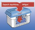 Opinie o WENKO Pochłaniacz wilgoci, osuszacz powietrza + wkład 1 kg 3.13-7E3