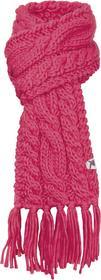 Salewa Szalik CHUNKY KN SCARF 22075-6150 różowy i odcienie różowego