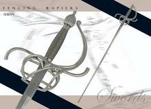 Sword SH1099 Practical Rapier - 37 inch blade