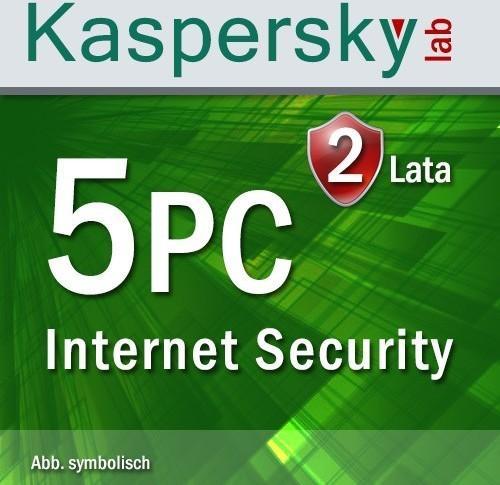 Kaspersky Internet Security Multi Device 2017 5 PC 2 lata