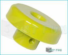Just Fun Plastikowy węzeł do liny zbrojonej czerwony - żółty