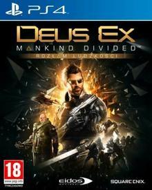 Deus Ex Rozłam Ludzkości Edycja Kolekcjonerska PS4