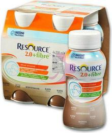 Nestle RESOURCE 2.0 Fibre ZESTAW 4x 200ml