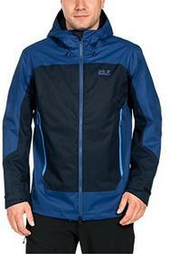 Jack Wolfskin North Slope kurtka turystyczna przeciwdeszczowa, męska, niebieski, XL 1108381-1010005