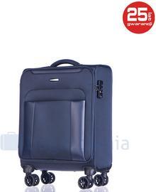 Puccini Mała walizka kabinowa BERLIN EM50390C 7 Granatowa - granatowy EM50390C 7