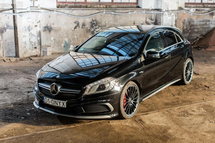 Jazda  Mercedes A 45