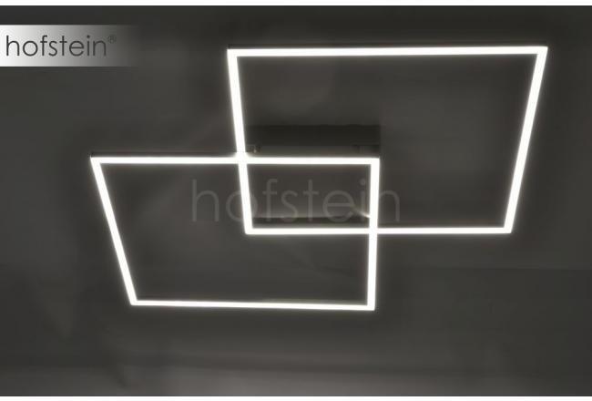 Paul Neuhaus Lampa Sufitowa Q Inigo LED Stal Nierdzewna, 2 Punktowe
