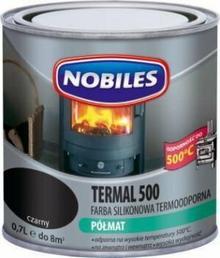 Nobiles . Farba silikonowa termoodporna 0.7l Farba termoodporna 500