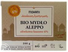 Mohani Mydło Aleppo BIO oliwkowo-laurowe 6% 200g