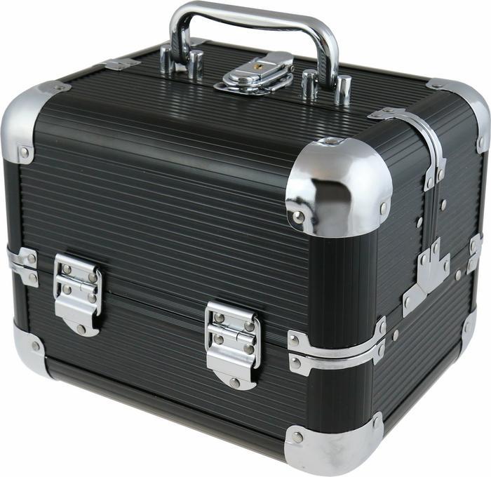 INTER-VION Inter Vion kuferek kosmetyczny 499 301 BLACK