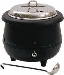 Stalgast Kociołek do zupy z chochlą / H: 360 mm / Śr: 350 mm / U: 230 V / V: 10,