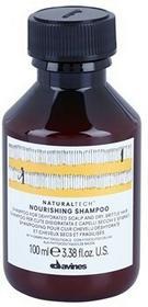 Davines Naturaltech Nourishing Szampon do odwodnionej skóry głowy oraz suchych i łamliwych włosów 100 ml