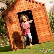 Fungoo Drewniany domek ogrodowy dla dzieci MY PLACE 00865