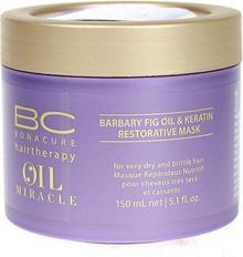 Schwarzkopf BC Oil Miracle Barbary Fig Oil Keratin Restorative Mask - Maska odbudowująca do włosów, 150ml