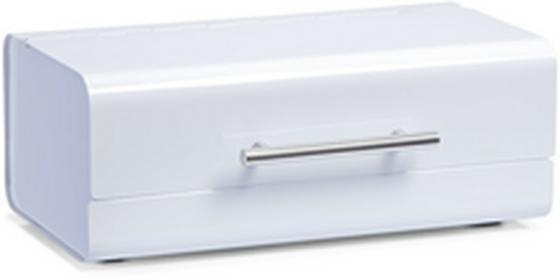 Zeller Metalowy chlebak pojemnik na pieczywo kolor biały B003TEFLI0