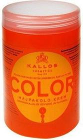 Kallos Color Hair Mask 1000ml W Maska do włosów farbowanych