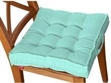Dekoria Siedzisko na krzesło Kuba na krzesło, pastelowa mięta, 50x50x10cm, Loneta