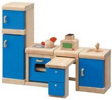 Plan Toys Drewniane Mebelki Dekoracyjne do Domku dla Lalek - Kuchnia Neo,