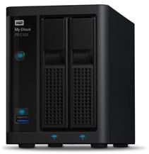 Western Digital WD My Cloud Pro Series PR2100 Gigabit Ethernet x2 8 TB WDBBCL0080JBK-EESN