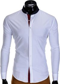 Koszula K308 - BIAŁA