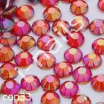 Ozdoby do paznocki COP 33 Light Siam AB opalizujące średnie (ss12) 3mm - wor.str.