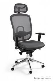 Unique Fotel biurowy VIP szary (W-80-8)