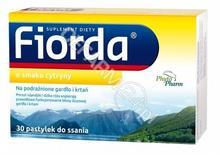 PhytoPharm KLĘKA S.A. Fiorda o smaku cytryny 30 pastylek